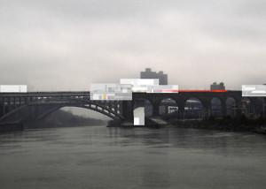 HIGH BRIDGE OF ARTS,  NEW YORK CITY