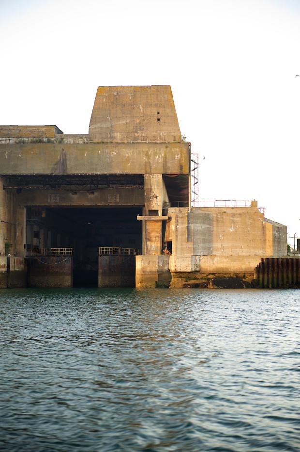 Lorient Keroman Base Sous-marins