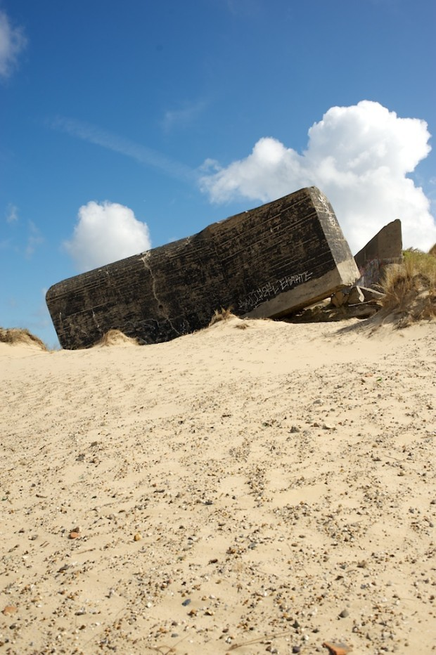 mur atlantique atlantic wall bunker plage beach wissant