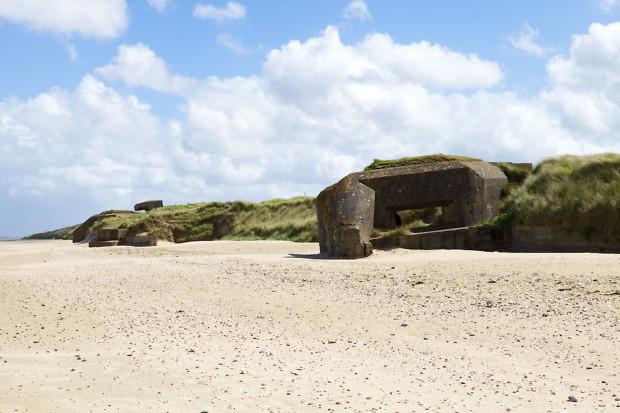 mur atlantique atlantic wall bunker utah beach